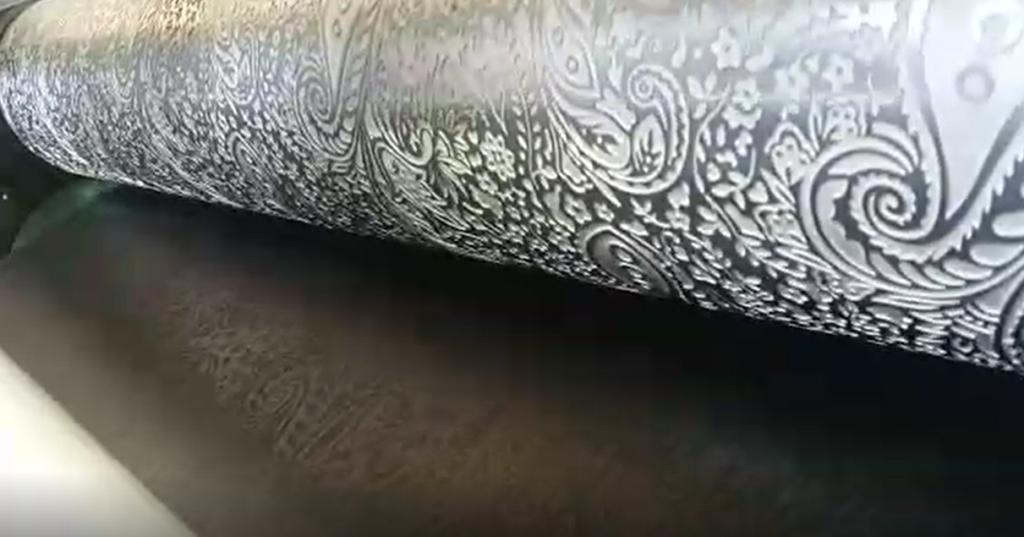 Membrane embossing
