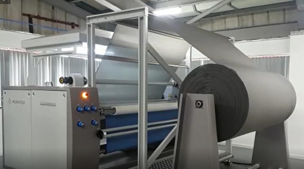 New foam bonding machine