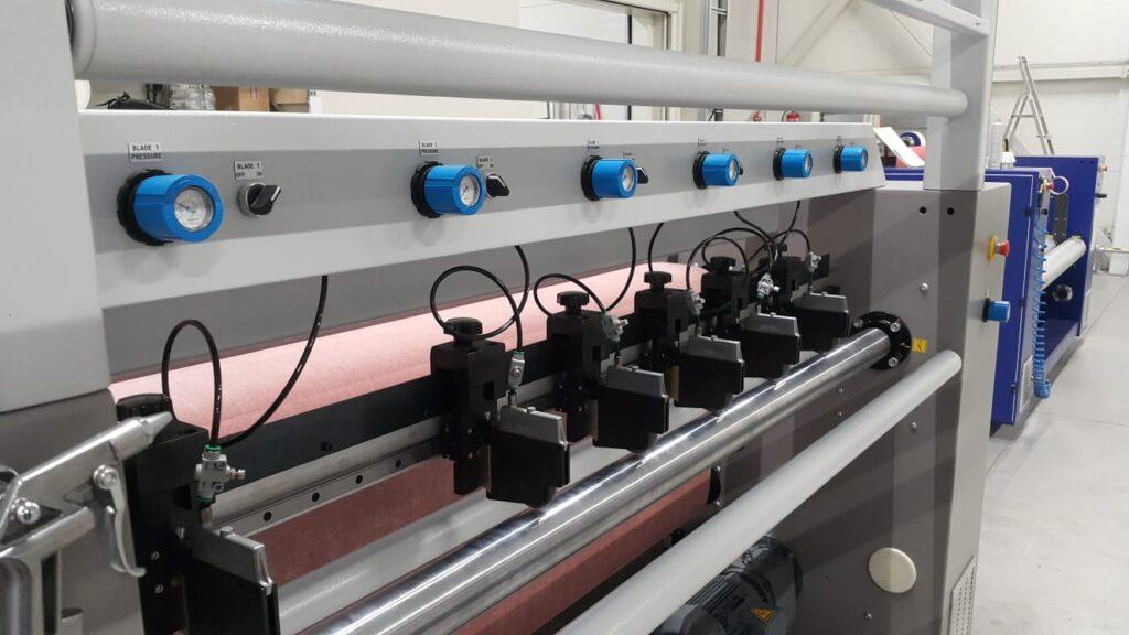 Slitter module for bonding machine